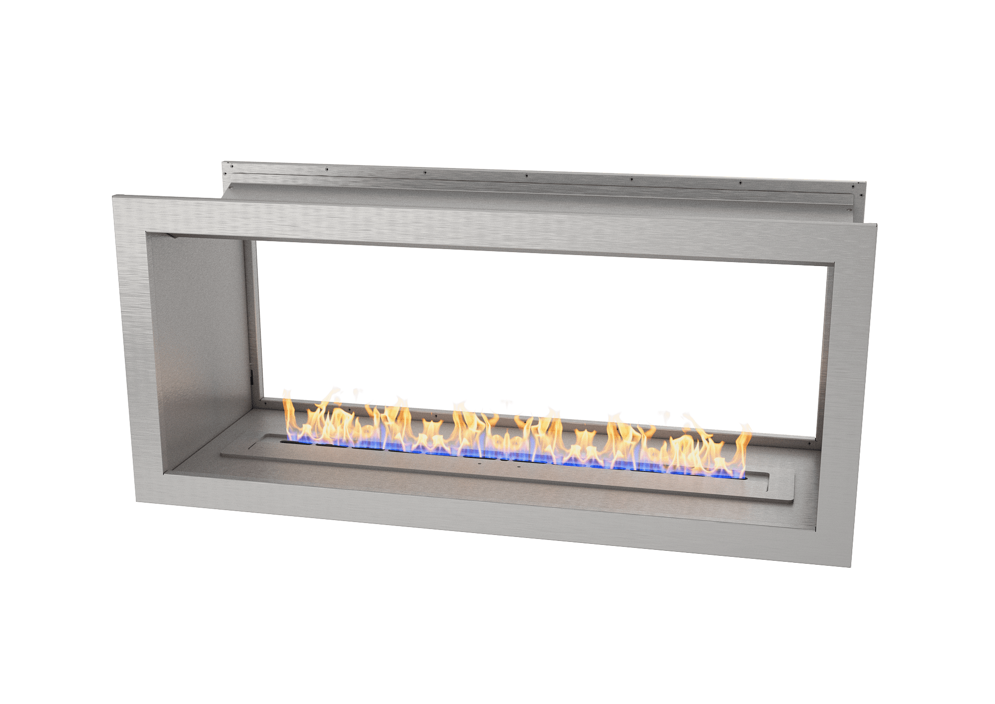 1100 Full Stainless double sided firebox w