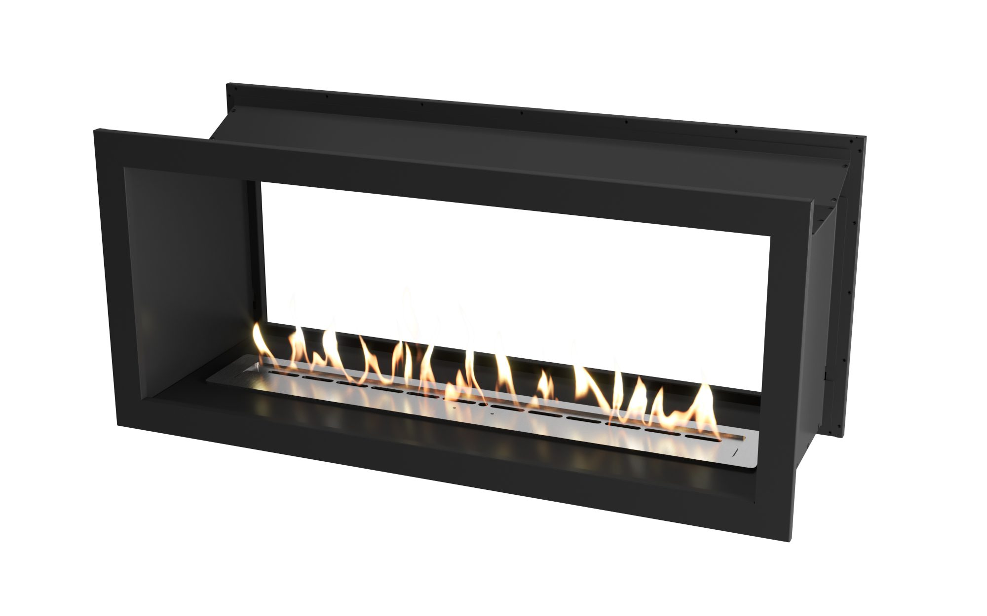 1350 Black double sided firebox with 110