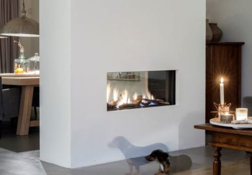 Faber Aspect Premium L See Through Gas Fireplace 1