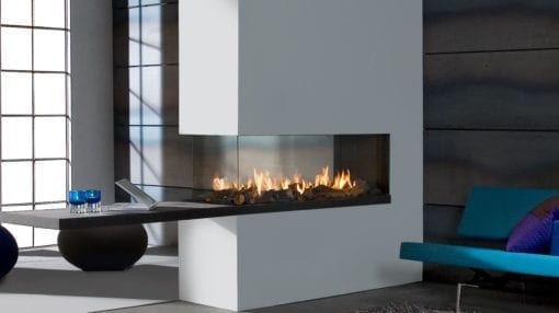 Faber Aspect Premium Three Sided Gas Fireplace (RD)