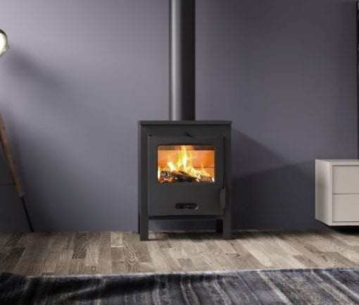 Lacunza Sagra closed combustion fireplace
